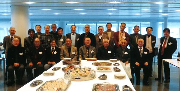 昭和35年卒短大電気科・昭和38年卒工学部第二部電気工学科 合同クラス会(悟年会)