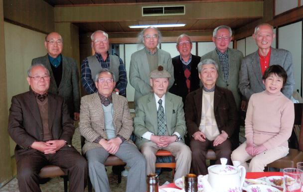 昭和36年卒工学部第二部電気工学科クラス会(八起会)
