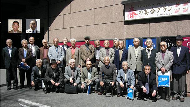 昭和32年卒工学部第一部電気工学科クラス会