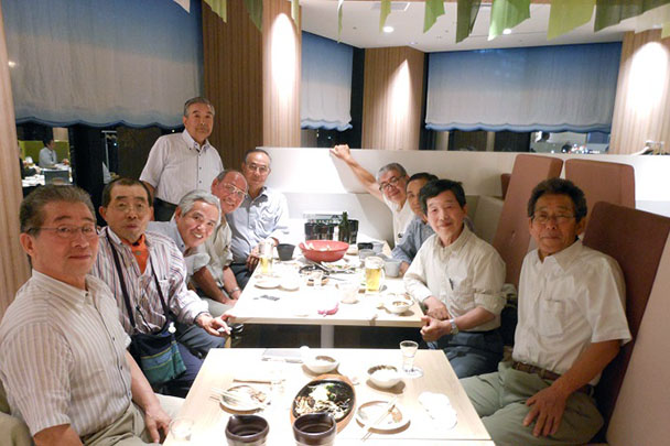 昭和46年卒工学部第二部電気工学科クラス会