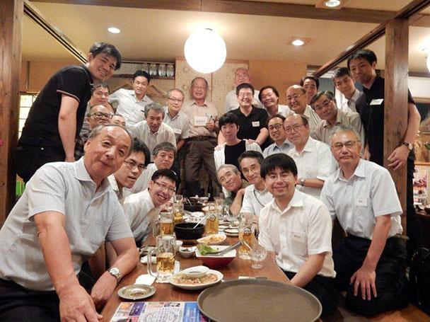 日本電波工業電機会総会・新入社員歓迎会