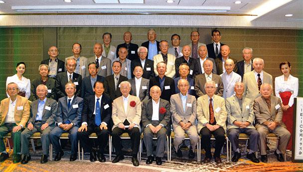 昭和35年卒 工学部第一部電気工学科、電気通信工学科合同クラス会