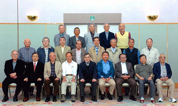 昭和41年卒工学部第一部応用理化学科第11回二期生クラス会