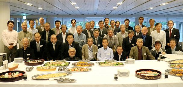 昭和49年卒工学部第一部建築学科クラス会