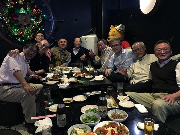 昭和52・53年卒 工学部第二部電気通信工学科クラス会
