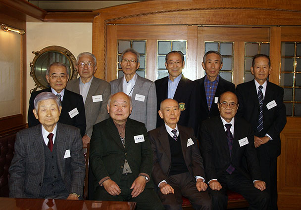 短大 昭和33年卒電気科第二部クラス会(第22回燦々会)
