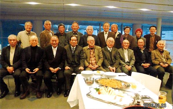 昭和35年卒短大電気科、昭和38年卒工学部第二部電気工学科、他合同クラス会(悟年会)