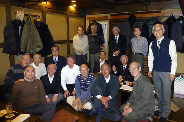 昭和45年卒工学部第一部電気工学科クラス会