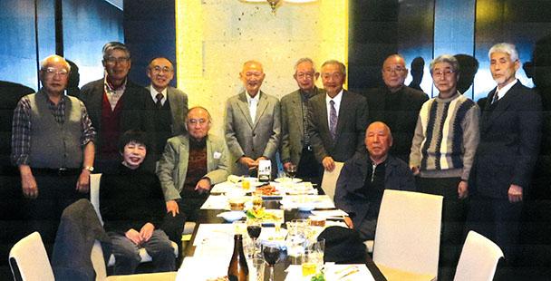 昭和36年卒 工学部第二部電気工学科クラス会(八起会)