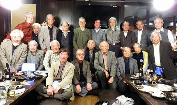 昭和39年卒 工学部第一部電子工学科クラス会