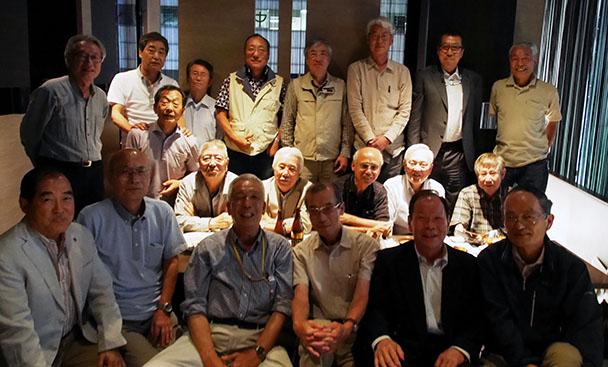 昭和44年卒 工学部第一部電気通信工学科クラス会