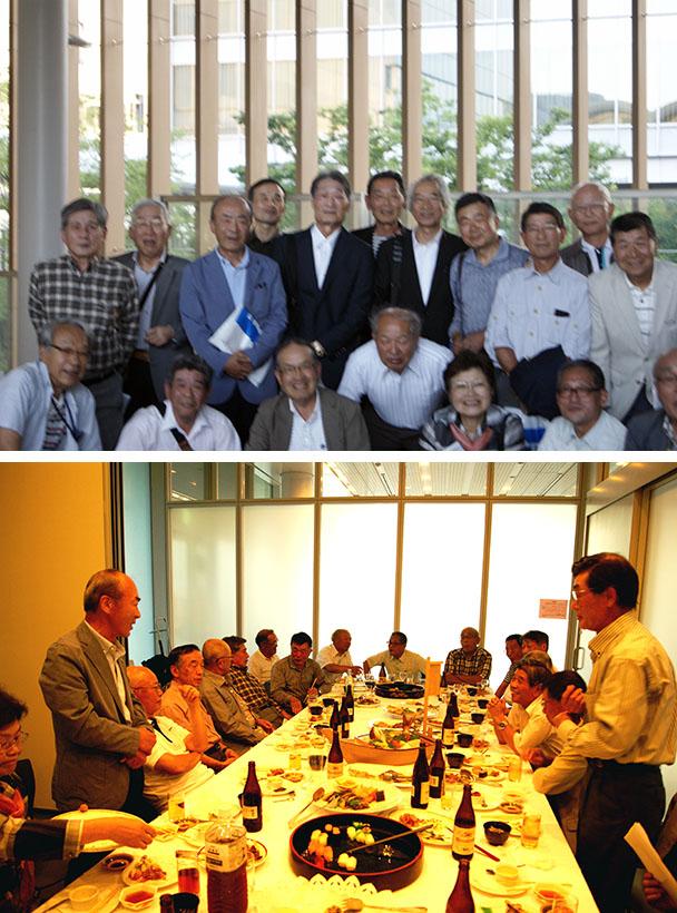 昭和42年卒工学部第一部応用理化学科クラス会