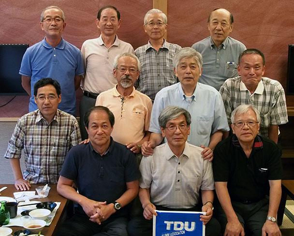 昭和46年卒工学部第一部精密機械工学科クラス会