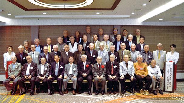 昭和35年卒 工学部第一部電気工学科・電気通信工学科合同クラス会