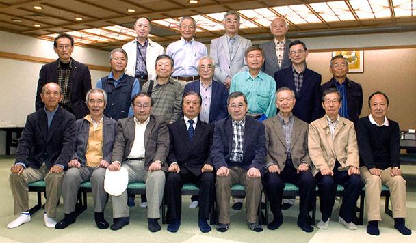 昭和41年卒工学部第一部応用理化学科第12回二期生クラス会