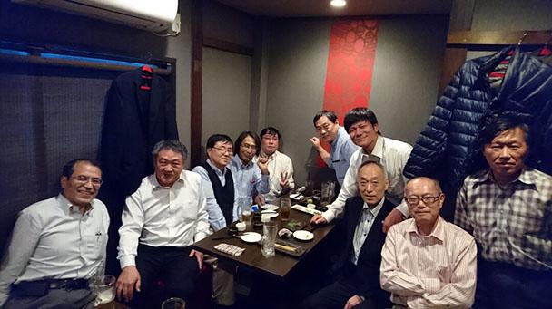 昭和56年卒工学部第一部電気工学科クラス会