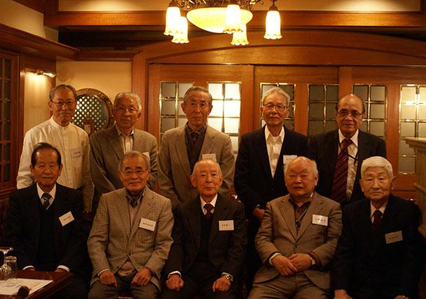 短大 昭和33年卒第二部電気科クラス会(第23回燦々会)