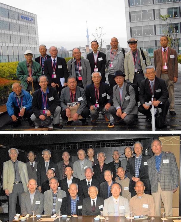 昭和40年卒工学部第一部応用理化学科一期生の集い