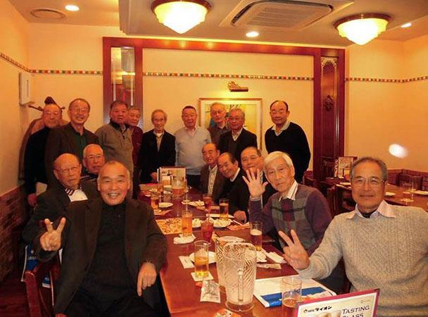 昭和43年卒工学部第一部応用理化学科クラス会