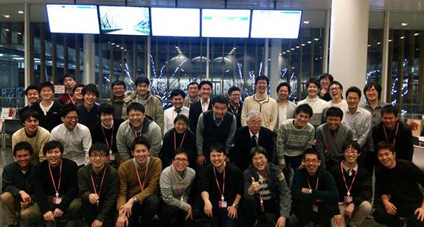 工学部電気電子工学科エネルギー環境システム研究室OB会