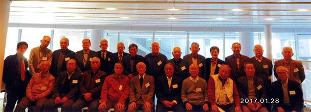 昭和35年卒短大電気科、昭和38年卒工学部第二部電気工学科合同クラス会(悟年会)