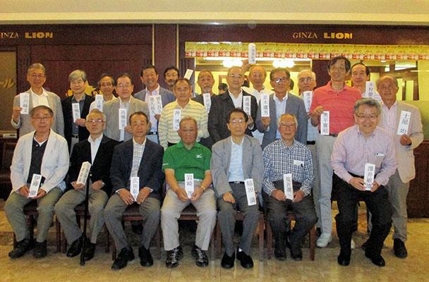 昭和44年卒工学部第一部電子工学科クラス会