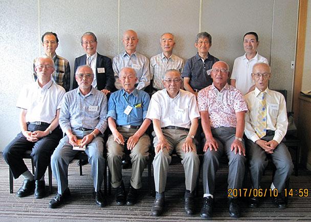 昭和40年卒工学部第一部電子工学科クラス会
