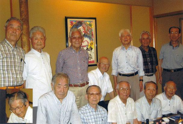 昭和31年卒工学部第一部電気工学科クラス会