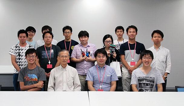 工学部情報通信工学科ワイヤレスシステム研究室OB会