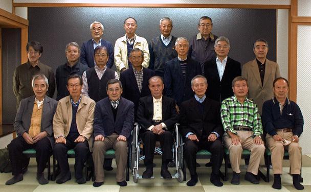 第13回昭和41年卒工学部第一部応用理化学科クラス会(二期生)