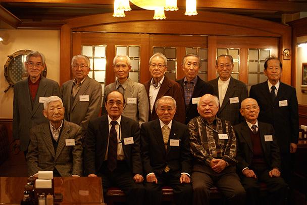 昭和33年卒短期大学電気科第二部クラス会(第24回燦々会)