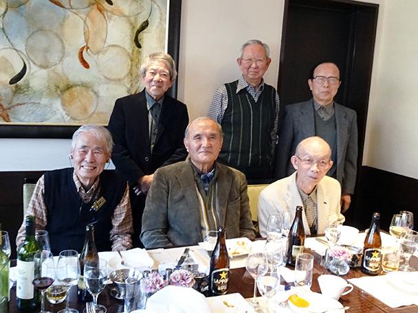 昭和34年卒工学部第一部電気通信工学科有志の会(新年会)