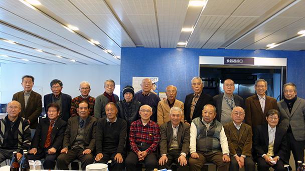 昭和35年卒短期大学電気科第二部、昭和38年卒工学部第二部電気工学科合同クラス会