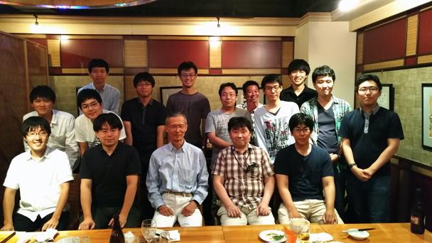 工学部情報通信工学科三輪・小林研究室OB会