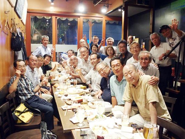 昭和50年卒工学部第一部建築学科クラス会
