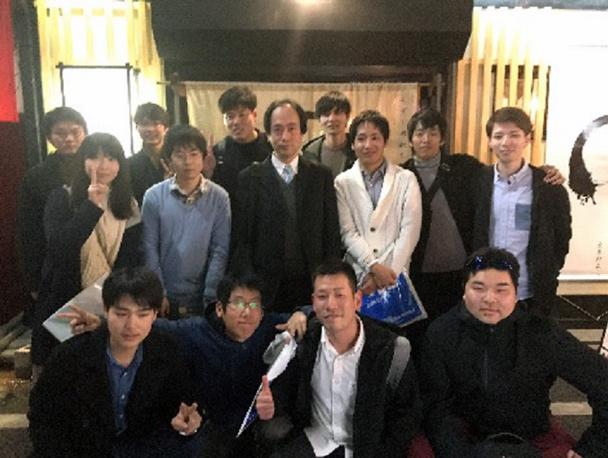 工学部電気電子工学科光応用工学研究室(西川研究室)OB会