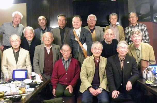 昭和39年卒工学部第一部電子工学科クラス会(D999会)