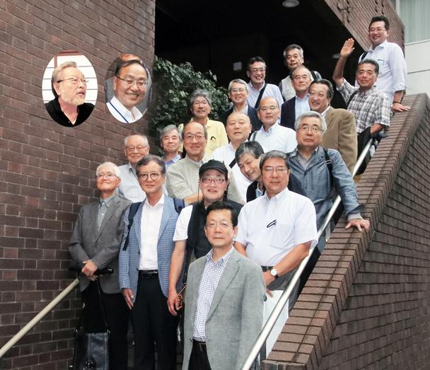 昭和52年卒工学部第一部機械工学科クラス会