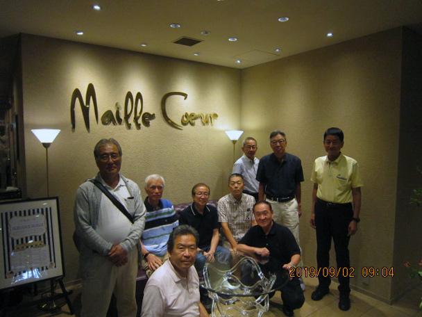 昭和49年卒工学部第一部機械工学科クラス会