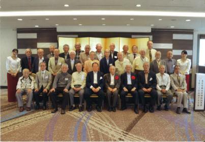 昭和35年卒工学部第一部電気工学科、電気通信工学科合同クラス会