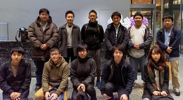 情報環境学部 信号処理研究室OB会