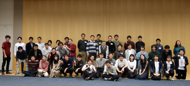 工学部情報通信工学科音響信号処理研究室OB会
