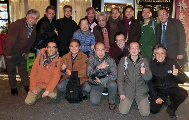 昭和59年卒工学部第一部電子工学科クラス会