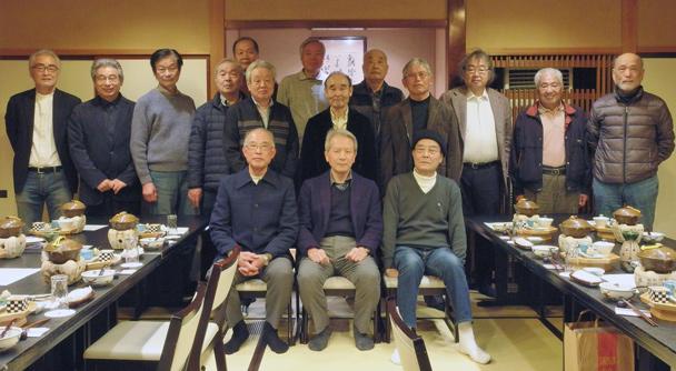 昭和45年卒工学部第一部建築学科クラス会